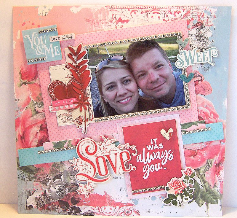 My Valentine Chipboard, Simple Stories, / FotoBella
