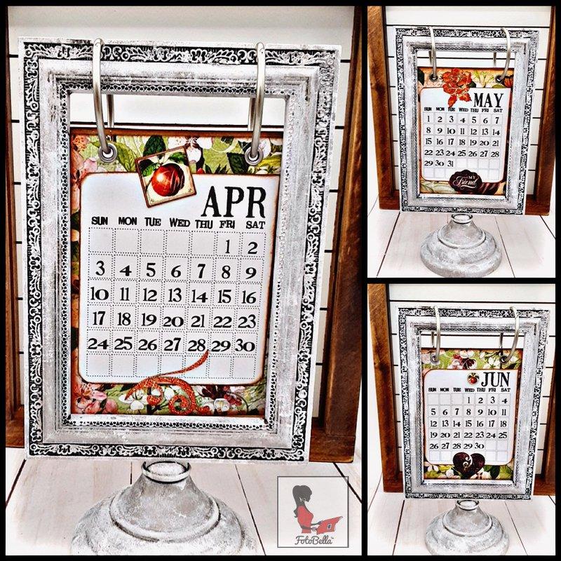 DIY Kitchen Calendar, Graphic 45