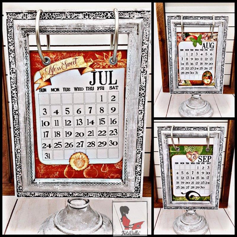Kitchen Calendar, FotoBella