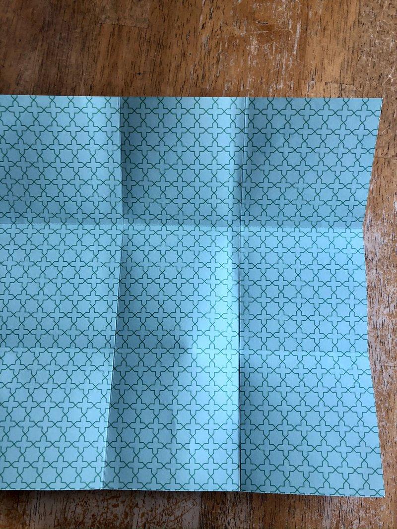echo park, tutorial, folding paper