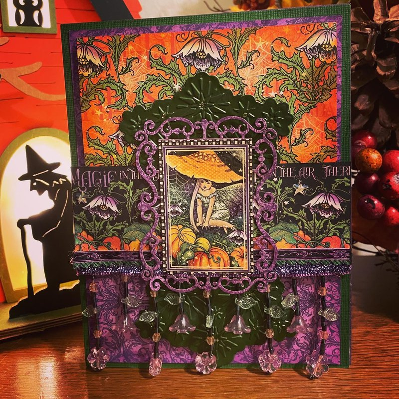 Cardmaking tutorial Card #1, fotobella, graphic 45