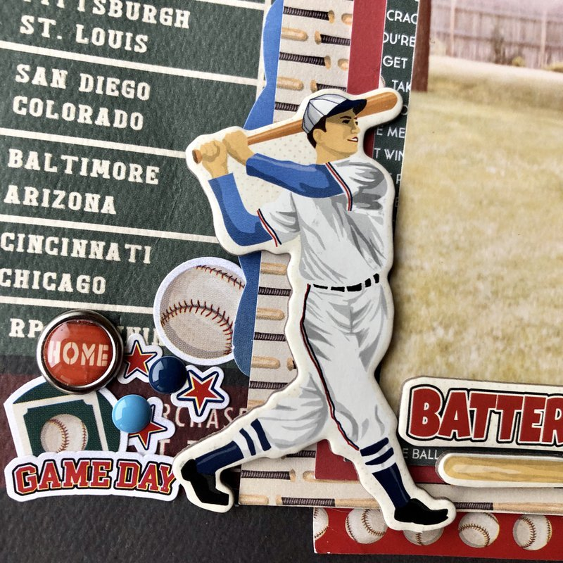 baseball player, scrapbook