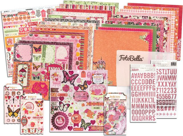 Bo Bunny Sweet Clementine I Want it All Bundle