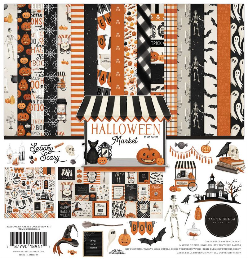 Carta Bella Halloween Market Collection