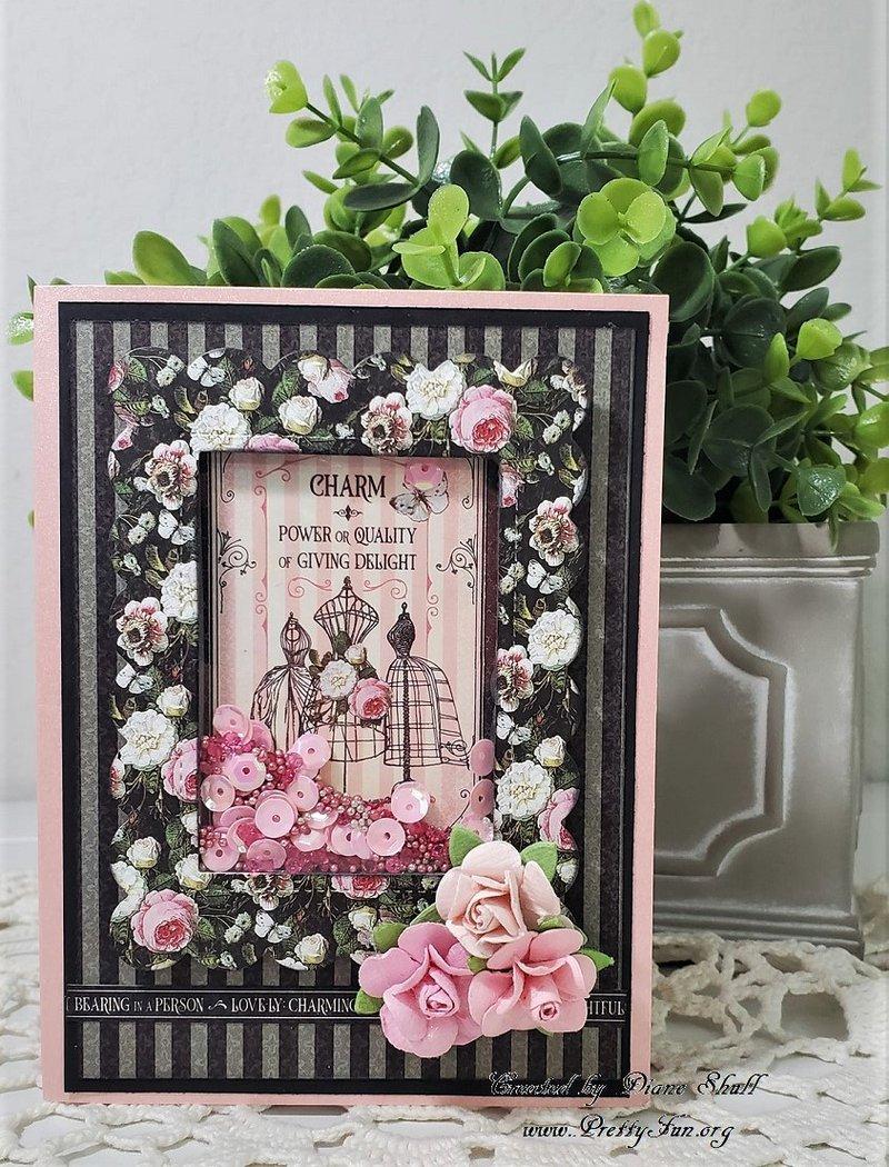 graphic 45, elegance, fotobella, card