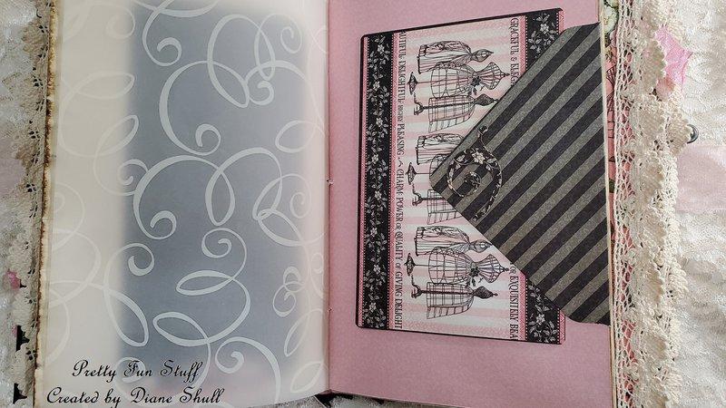 graphic 45, elegance, journal, fotobella