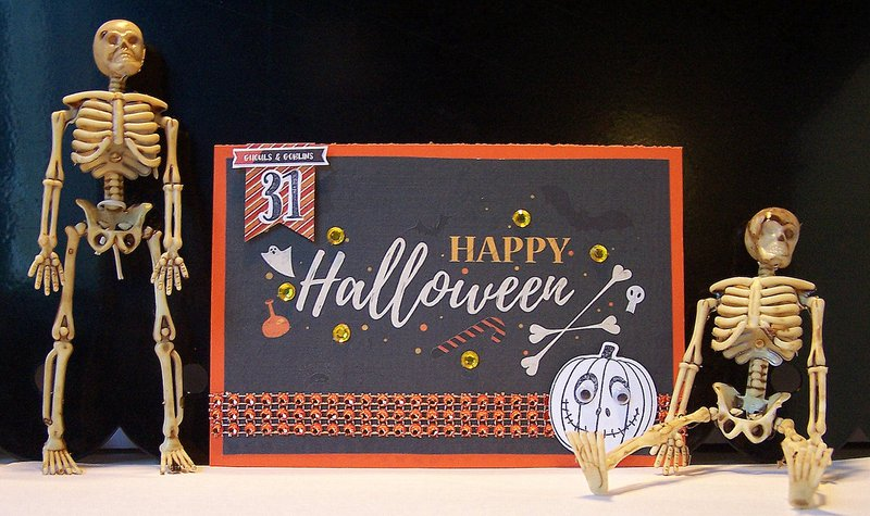 Happy Halloween handmade card ideas featuring PhotoPlay All Hallows Eve