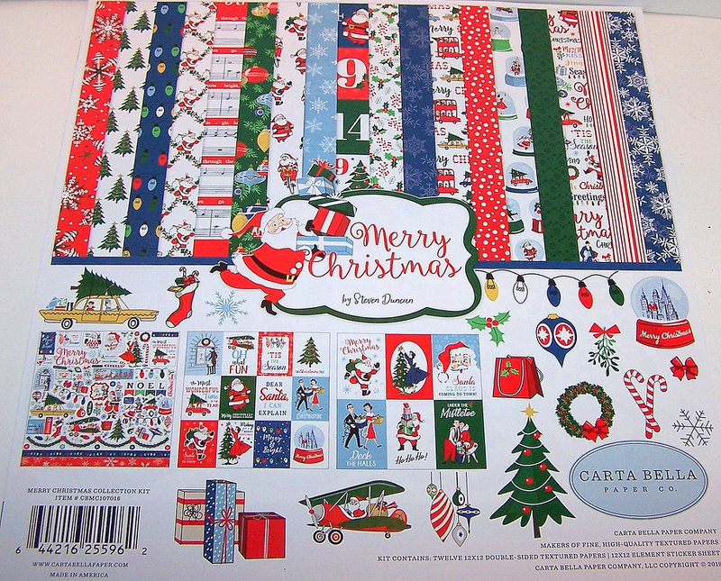 FotoBella Carta Bella Christmas Scrapbook Collection
