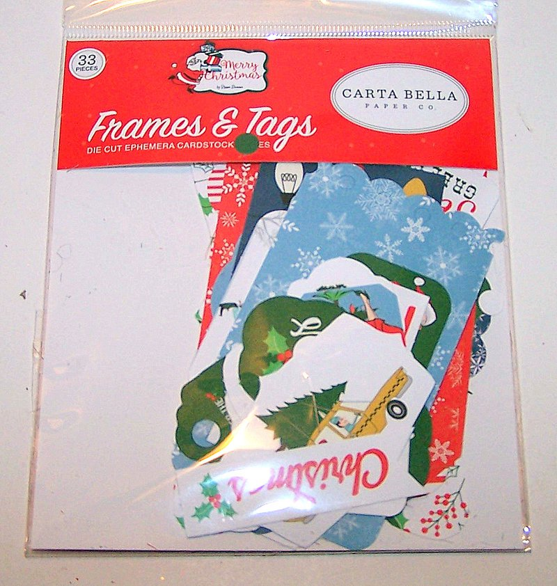 FotoBella Frames and Tags embellishments