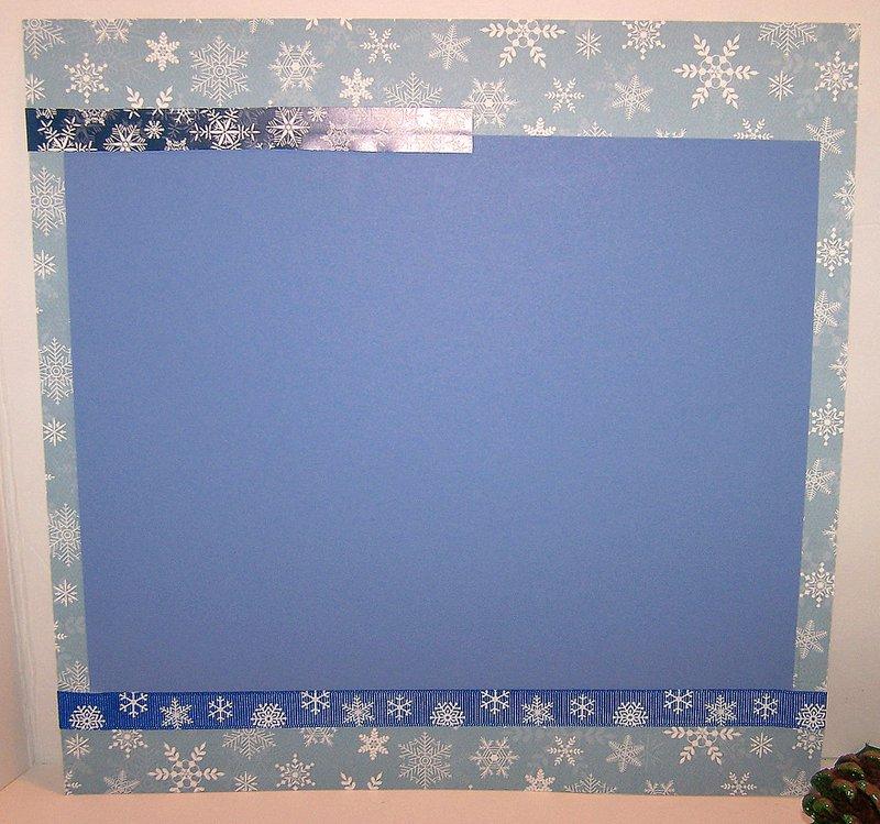 FotoBella Carta Bella Snowflake Scrapbook  Paper