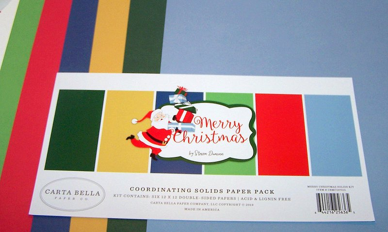 FotoBella Carta Bella Christmas Scrapbook Cardstock Collection