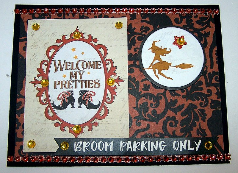Welcome My Pretties handmade card ideas featuring PhotoPlay All Hallows Eve