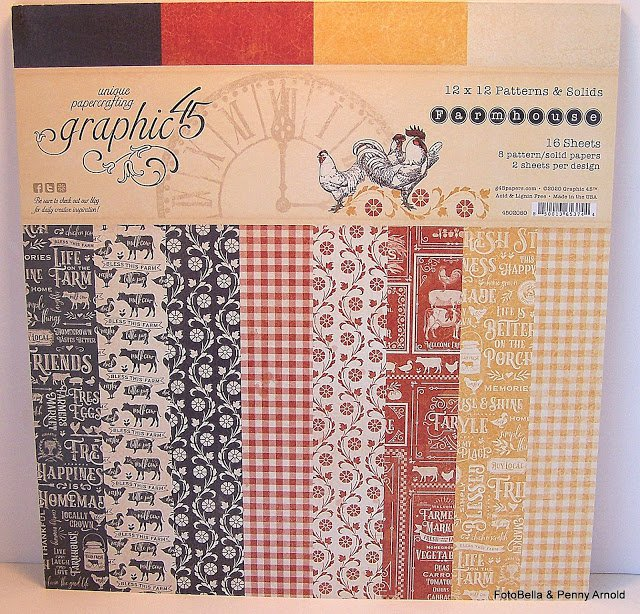 Graphic 45 Solid and Pattern 12 x 12