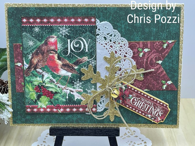 graphic 45, fotobella, cardmaking, let it snow