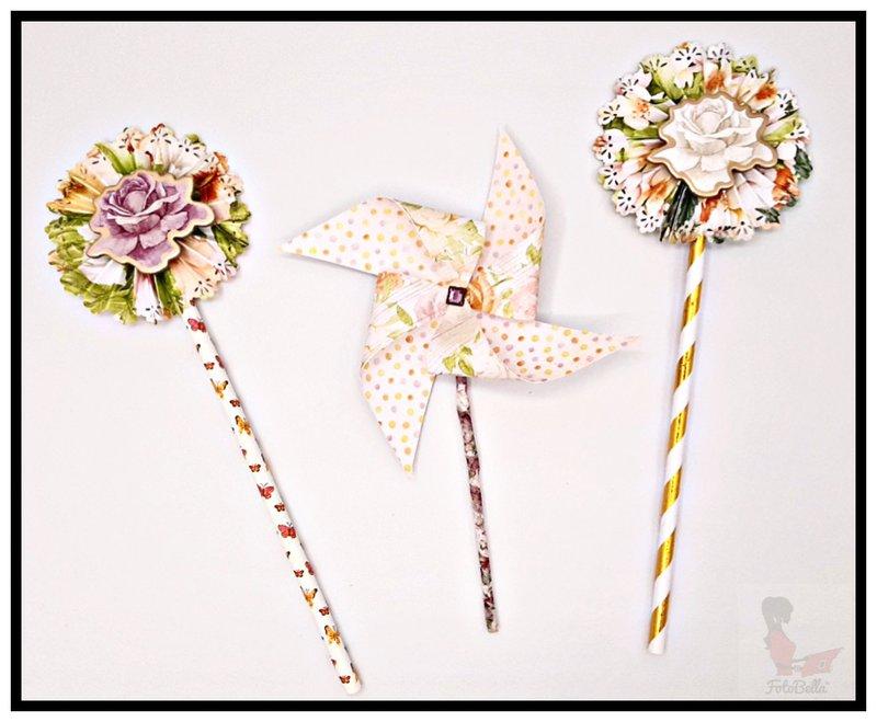 bo bunny, pinwheels