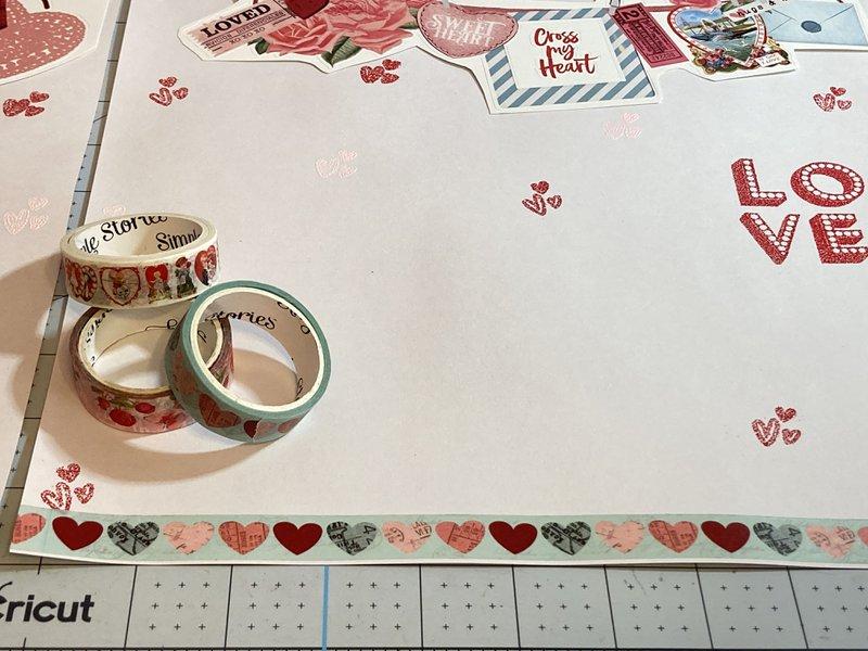 Valentine's Day Washi Tape
