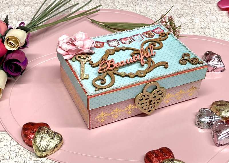 Valentine Box with Cards