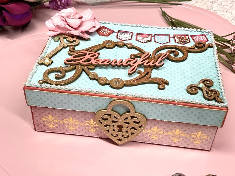 Valentine Box for Cards