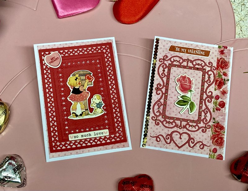 Red and White Cards