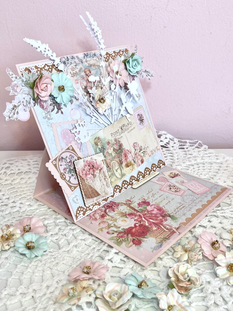 Prima Magic Love Easel Card
