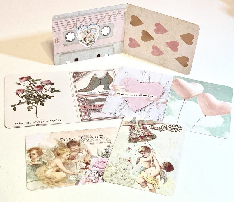 Magic Love Cut Apart Cards