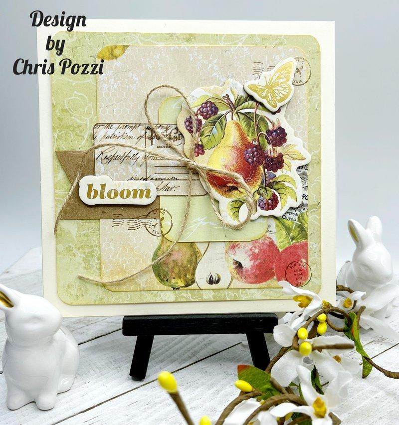 prima marketing, fotobella, card making, fruit paradise