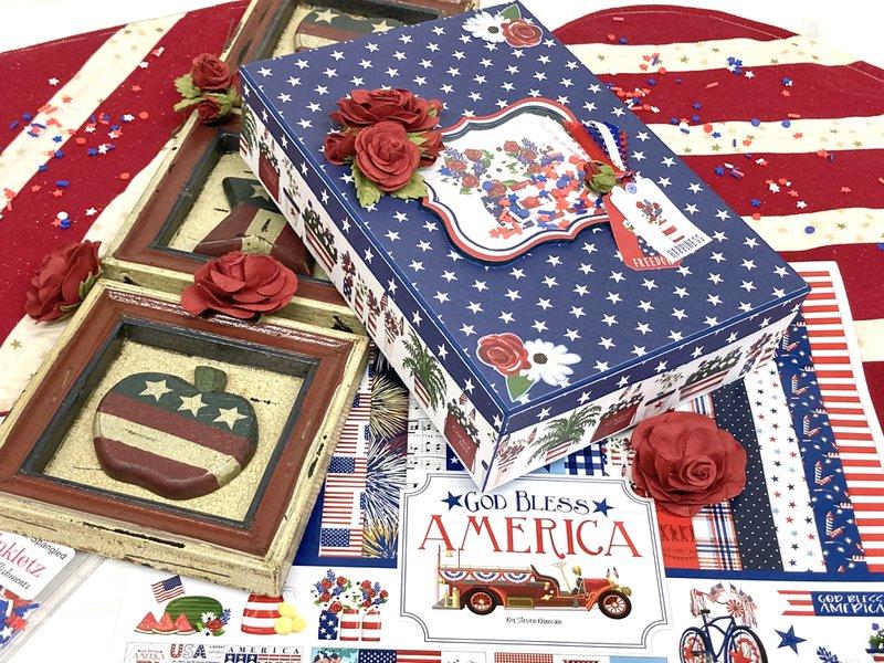 patriotic box