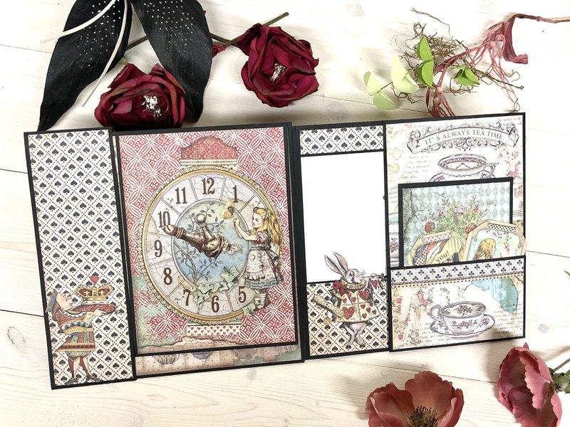 Stamperia Alice in Wonderland