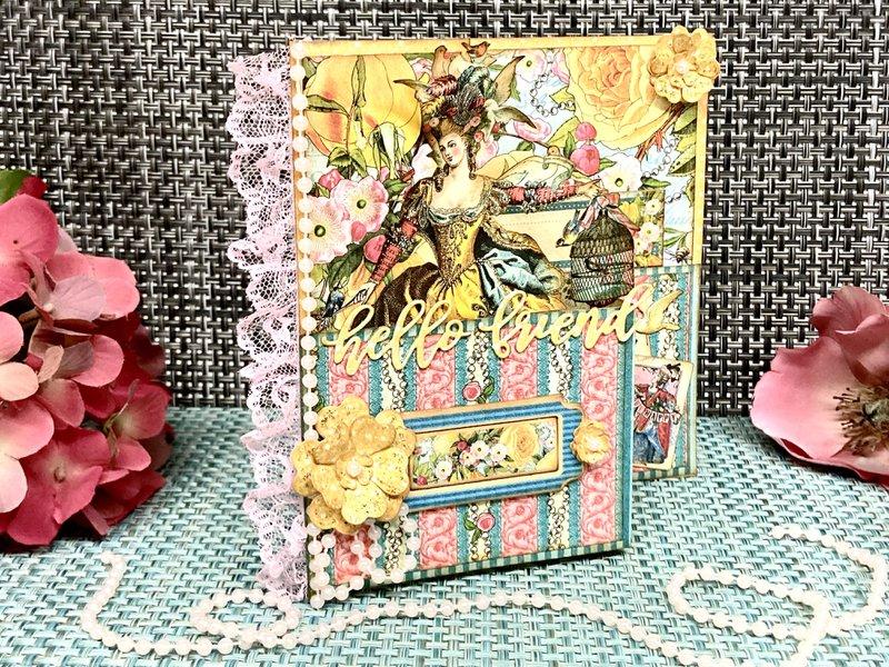 Ephemera Queen Card