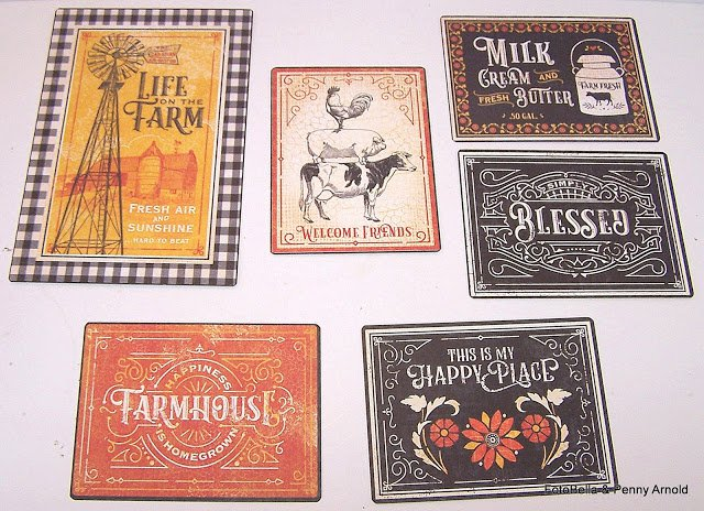 Graphic 45 Journaling Cards