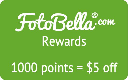 Rewards make FotoBella one of your favorite online scrapbook stores