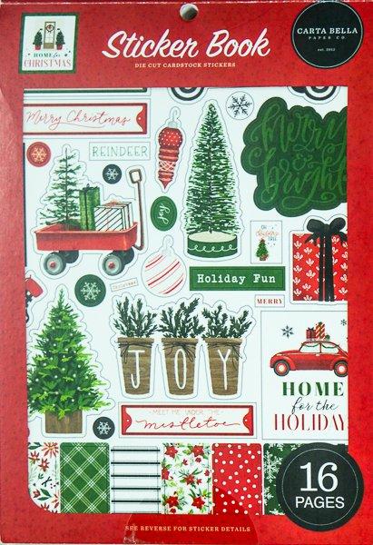 carta bella, home for christmas, fotobella, planner