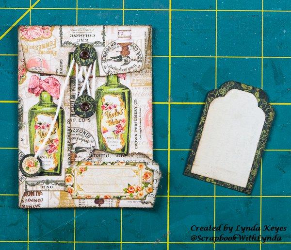 graphic 45, fotobella, envelopes, portrait of a lady