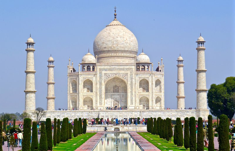 Taj Mahal picture, Travel vaccines for india