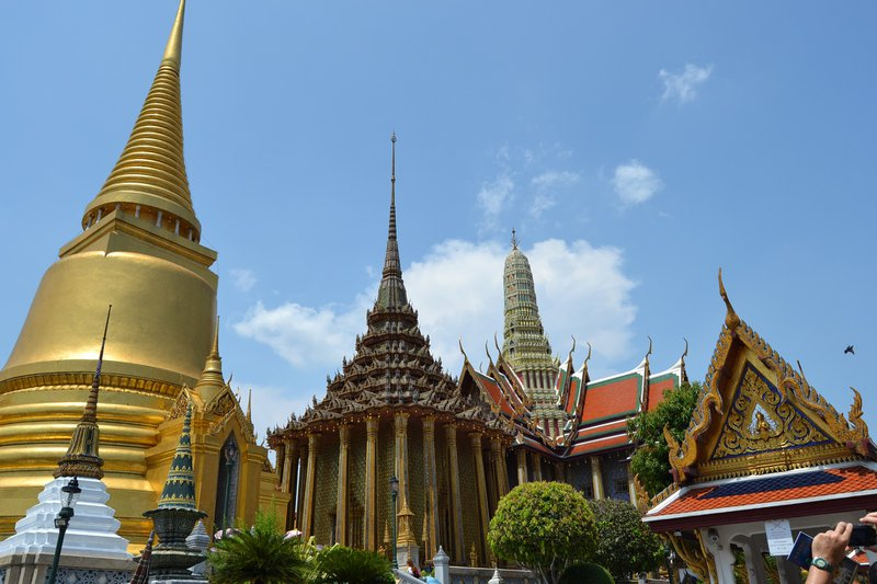 Thailand temple, travel vaccines for Thailand