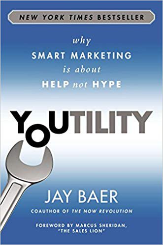 Book cover of Youtility by Jay Baer