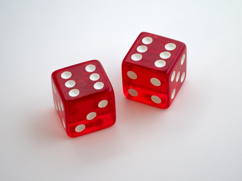 red dice both showing 6's