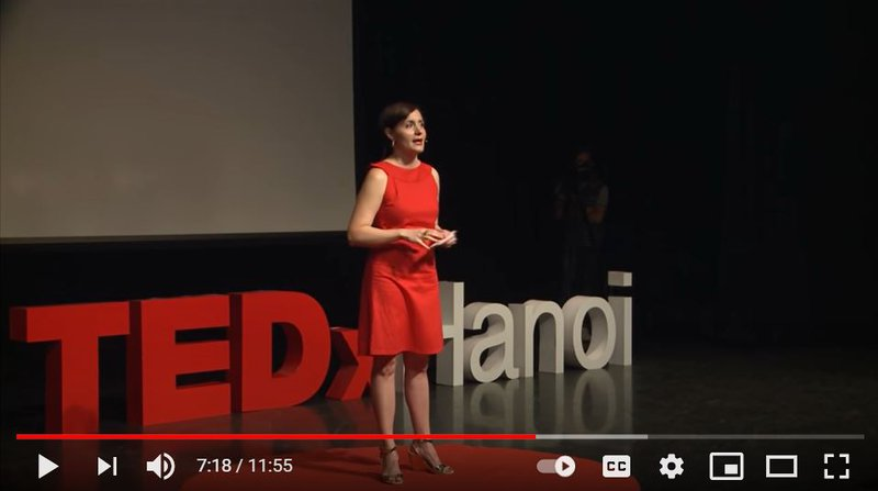 Laura Shehaan Tedx talk video still