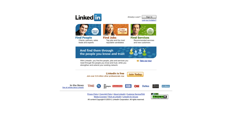 LinkedIn free registration