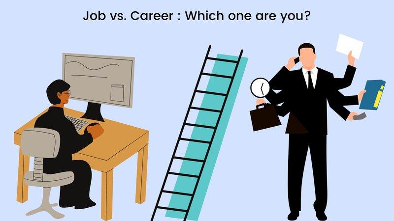 Job vs. career representation