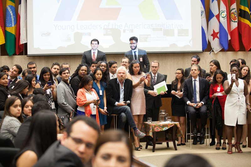 Young Leaders of the Americas Initiative at the U.S. Department of State in Washington D.C