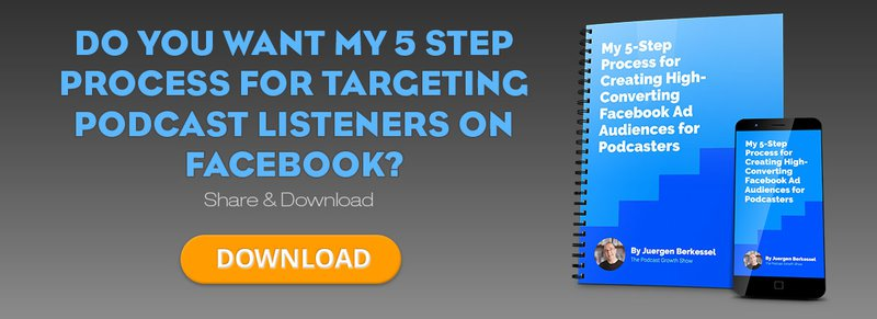 Podcast Advertising and targeting on Facebook