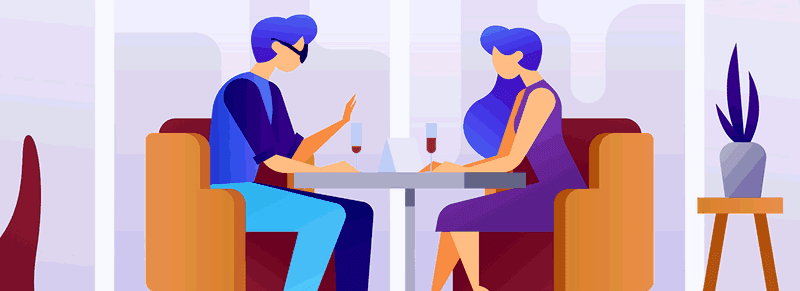 Would you go on a date without ever asking the other person's name?
