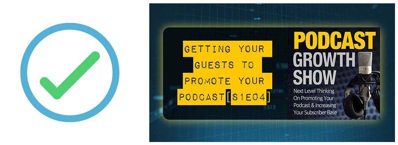 Podcast marketing checklist #2