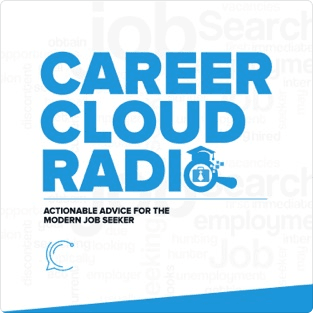 The Career Cloud podcast graphic