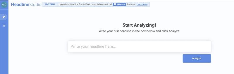 Headline Studio Home Page