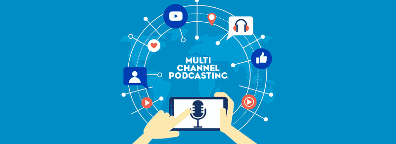 Podcast content strategy as a multi channel approach