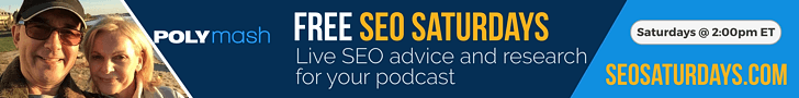 Join us LIVE on SEO Saturdays