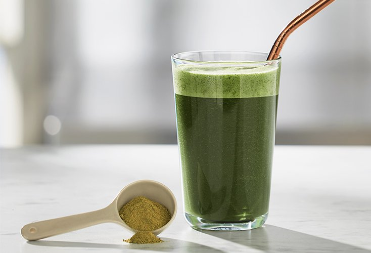 Greens Powder Smoothie