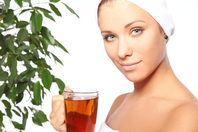 tea for skincare